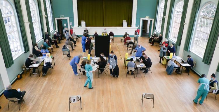 Wilton Covid vaccination centre