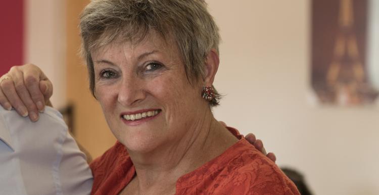 Volunteer June Barnes