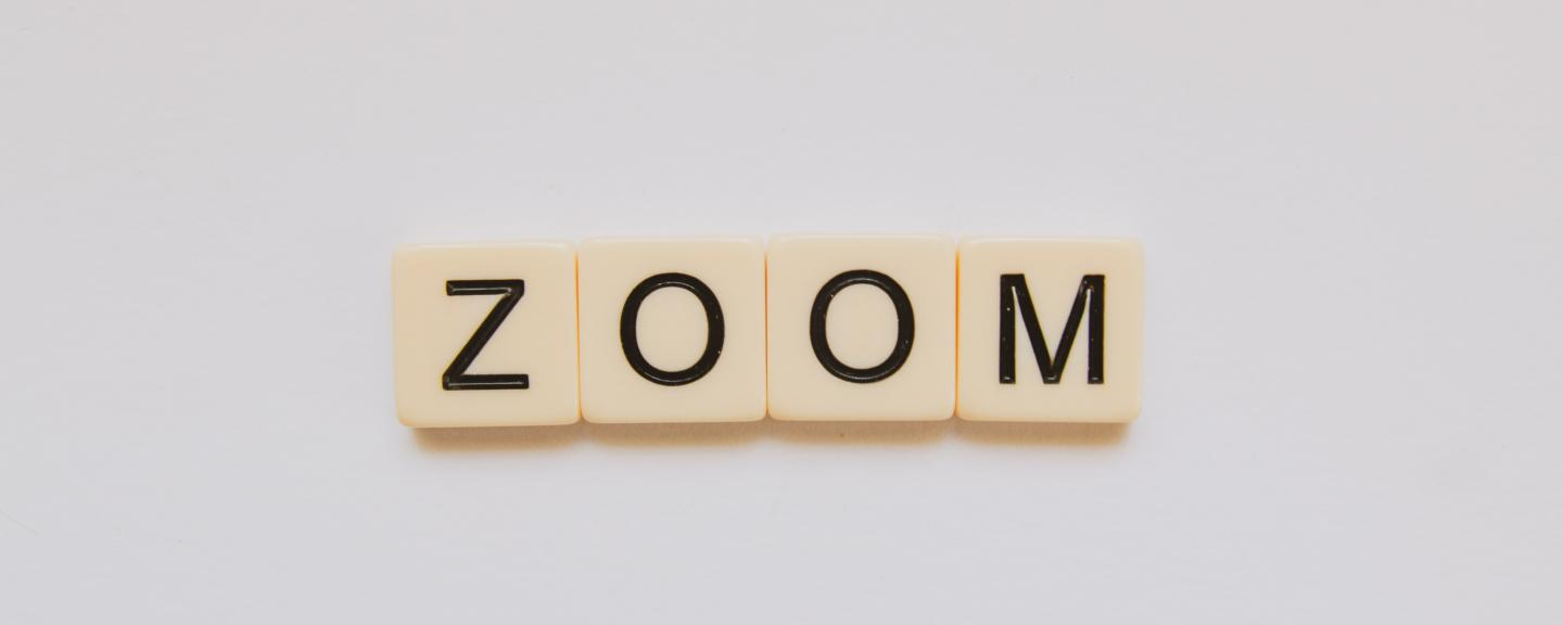scrabble counters spelling zoom