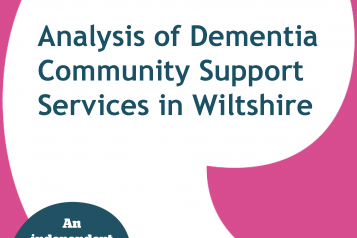 Analysis of Dementia Community Support Services front cover