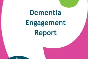 Dementia Engagement Report 2015 front cover