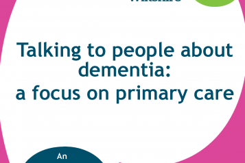 Dementia Primary Care front cover