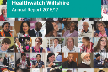 Healthwatch Wiltshire Annual Report 2016-17 front cover