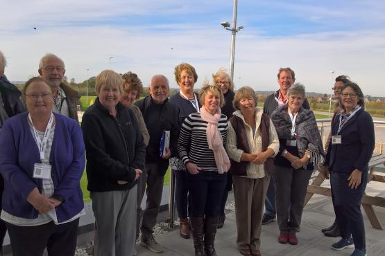 Healthwatch Wiltshire volunteers