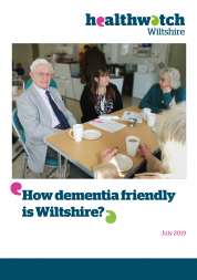 How dementia friendly is Wiltshire front cover