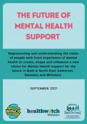 The future of mental health support report front cover