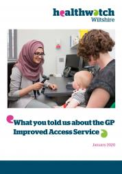 GP Improved Access Service report front cover