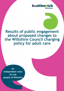 Adult Social Care charging policy