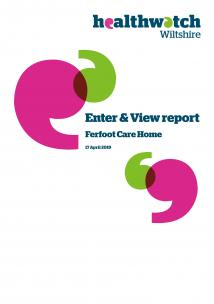 Enter and View Ferfoot front cover