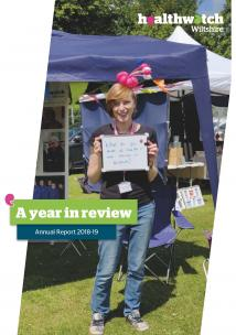 Annual report front cover