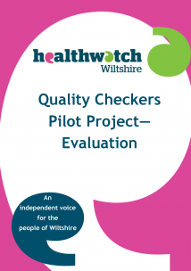 Quality Checkers Pilot Project Evaluation