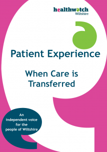 Transfers of Care front cover