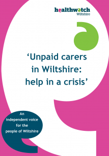 Unpaid Carers - Help in a Crisis